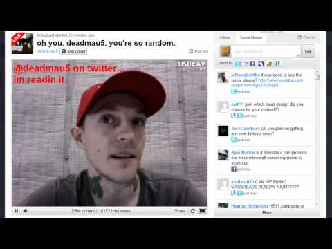 Deadmau5 Live Chat 