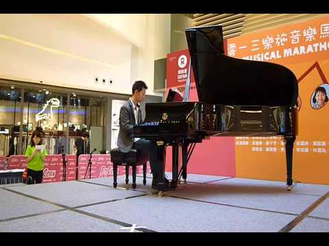 Oxfam Music Marathon 2013 - Piano Performance by Edwin Yeung (Canon in D)