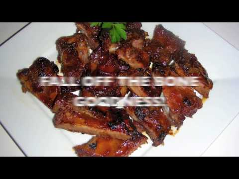 Chinese BBQ Spare Ribs Recipe - Fall Off The Bone Goodness!