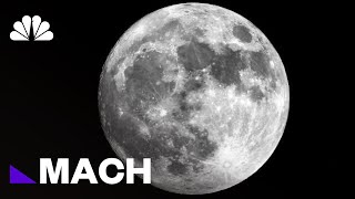A 30-Million Page 'Lunar Library' Is Headed To The Moon To Preserve Civilization | Mach | NBC News - NBCNEWS