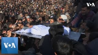 Funeral for Boy Killed in Violence in Kashmir - VOAVIDEO