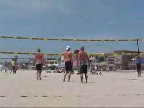 CBVA Mens Open Delany/Blair vs. Michelau/Sandler Part 1