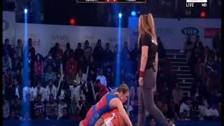 PWL 3 Day 15: Zsanett Nemeth VS Pooja  at Pro Wrestling League season 3 |Highlights - ITVNEWSINDIA