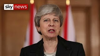 Breaking News: Theresa May calls for MPs to make Brexit decision - SKYNEWS
