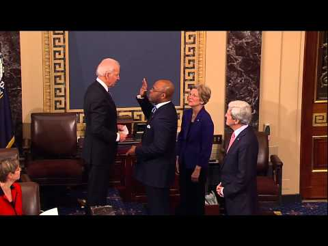 Swearing in of Senator Mo Cowan (D-Mass.)