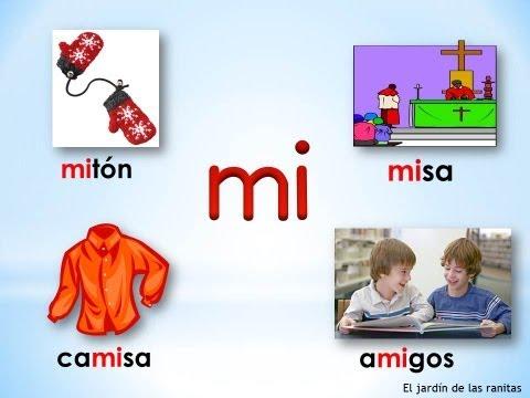 # 2 Sílabas ma me mi mo mu - Syllables with M