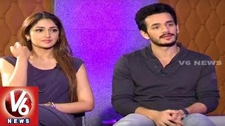 Akhil Akkineni and Sayesha Saigal Exclusive Interview in Taara