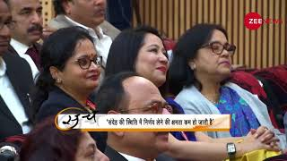 Subhash Chandra Show: What does freedom means? - ZEENEWS