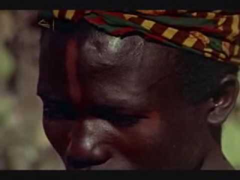 African Tribe dances circumcision hunting death 5/9