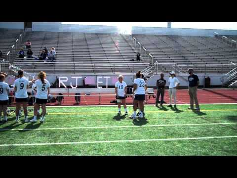 2014 Women's Lacrosse Senior Day ceremony