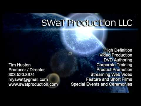 SWaT Production LLC Video Business Card