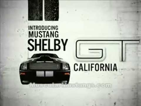 Shelby GT California Edition Ford Mustang