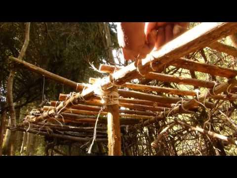 Lagerbau Bushcraft Camp # 19