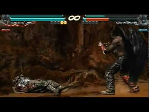Tekken Tag Tournament 2 | ( Devil Kazuya \ Devil Jin ) Combo Act | A9K