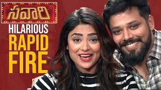 LAUGH RIOT: Actor Nandu - Priyanka Sharma's MOST HILARIOUS Rapid Fire | Savaari Movie Interview - TFPC