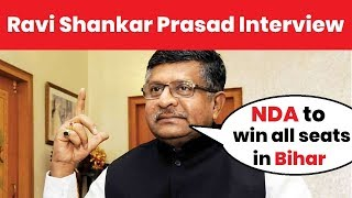 Lok Sabha Elections 2019, Bihar: Ravi Shankar Prasad Exclusive Interview on Bihar candidates - NEWSXLIVE