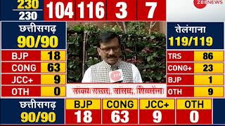 Sanjay Raut , Shiv Sena Leader on Assembly elections result - ZEENEWS