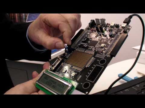 Cypress PSoc5 Cortex-M3 at Embedded World 2011