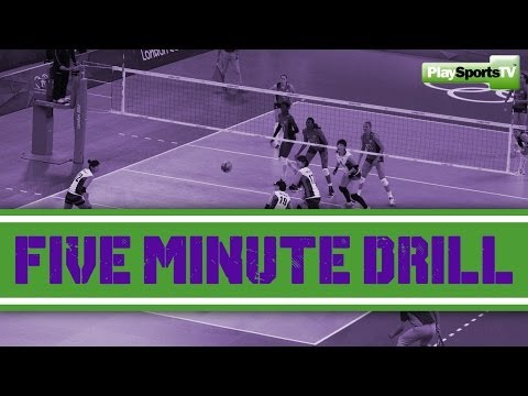Volleyball - Five Minute Drill
