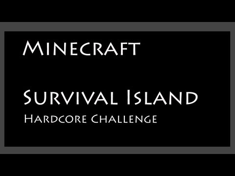 Minecraft Survival Island Challenge - Part 1 of 3 - Scavenging (working v1.5.2 seed)