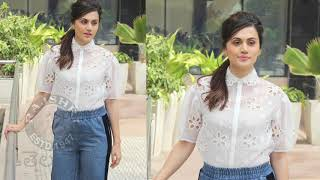 Taapsee Pannu At Game Over Movie Promotions | Ashwin Saravanan | Y Not Studios | June 14 - RAJSHRITELUGU