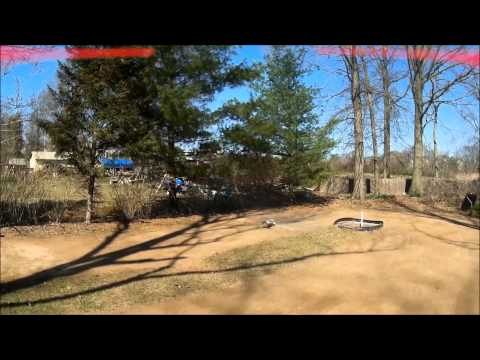 Race day with Traxxas Rustler, RC10B4, LOSI XXXT, RC104T and RC10B44