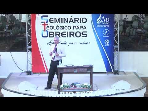 Seminário teológico para obreiros - Pr. Joel Paulino - Palestra 01 - 22 09 2018