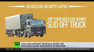 Playing with fire: Dozens of nuclear alerts underreported by British MoD, study reveals - RUSSIATODAY