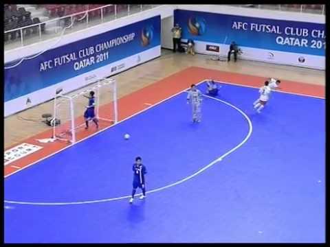 AFC Futsal Championships Final 2011 - Shahid Mansouri (IRN) vs Nagoya Oceans (JPN)