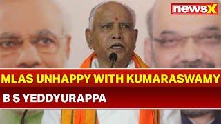 BS Yeddyurappa: More than 20 MLAs unhappy with HD Kumaraswamy in Karnataka - NEWSXLIVE