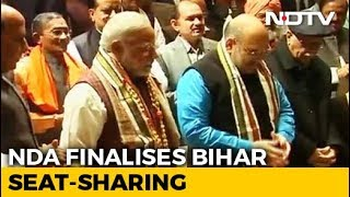 NDA Announces Seat Sharing In Bihar - NDTV