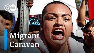 Migrant Caravan: Tensions rise in Tijuana | DW News - DEUTSCHEWELLEENGLISH