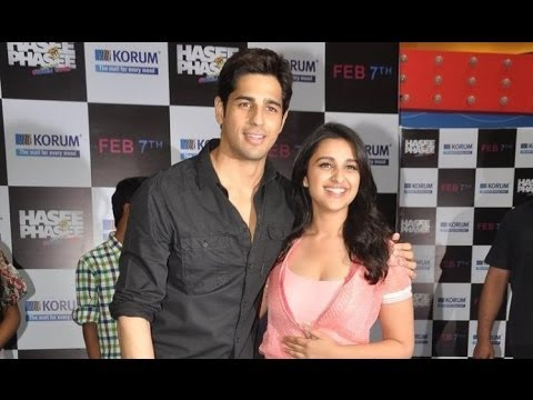 Are Sidharth & Parineeti B-town's Latest Couple?