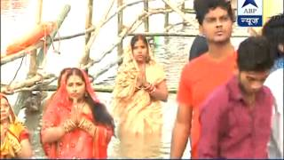 'Chhath' celebrated with religious fervour in Bihar and UP - ABPNEWSTV