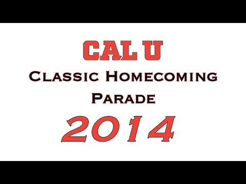 2014 California University HOMECOMING PARADE