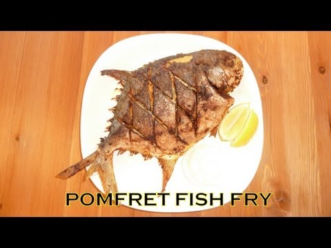 SPICY POMFRET / POMPANO FISH FRY