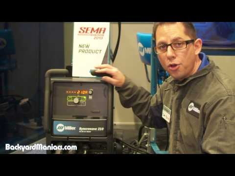 Miller Syncrowave 210 Tig Welder