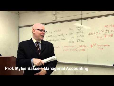 5 of 10 Managerial Accounting Basics: 5 Cost Behavior, High Low Method