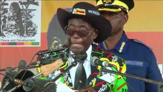 Zimbabwe's Mugabe celebrates 93rd birthday - REUTERSVIDEO