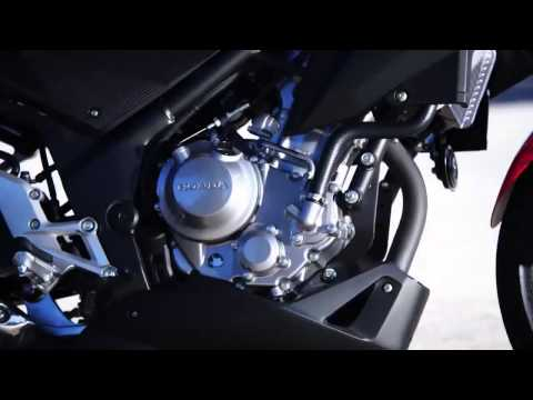 2015 new Honda CB300F first action photos & technical details
