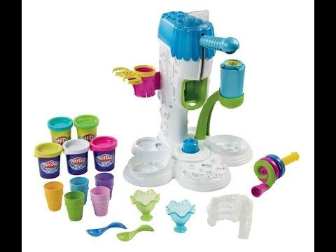 Play Doh Maquina de hacer helados | ice cream machine Play Doh