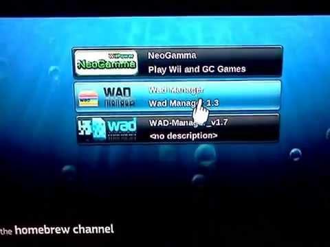 Wii Totorial Install NeoGamma R9 Beta 56