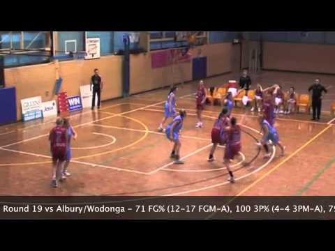 2011 SEABL Highlights - Alice Kunek 39 points vs Albury Wodonga