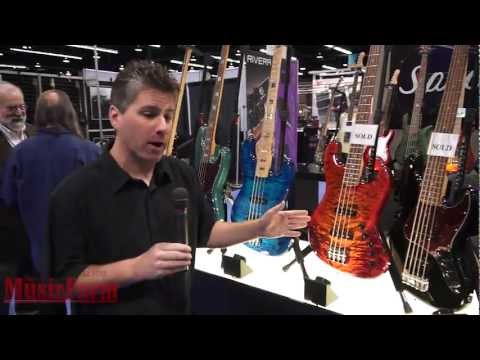 Winter NAMM '12 - Spector USA Handmade Electric Bass Guitars