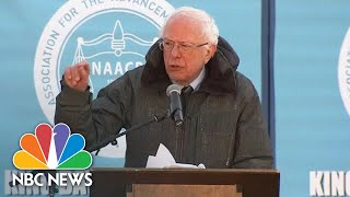 Bernie Sanders: 'We Now Have A President Of The United States Who Is A Racist' | NBC News - NBCNEWS