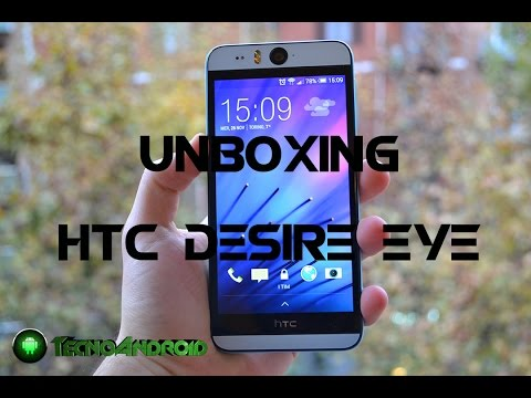 "HTC Desire Eye - Unboxing del ""Selfiephone"" by TecnoAndroid.it"