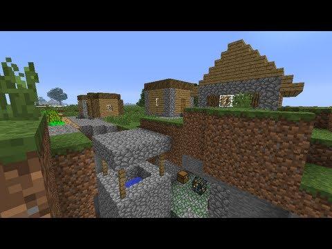 Minecraft Seed/Ziarna PL 1.6.2/1.6.4 Epicki Seed !!! Wioska w kanionie i 3 świątynie.