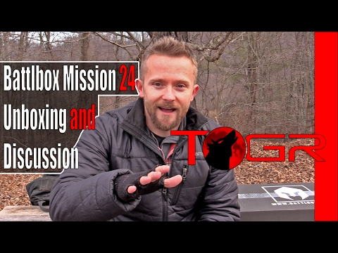Battlbox Mission 24 Unboxing and Discussion