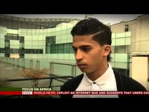 مقابلة BBC مع لاعب الموريتاني احمد احمدو