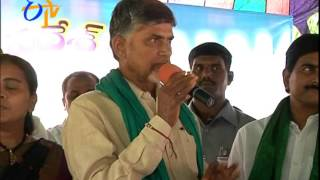 Will Develop Andhra pradesh As Poverty less State : Chandrababu - ETV2INDIA